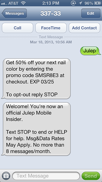 Online-Retailer-Text-Messaging-Promotion | MAD